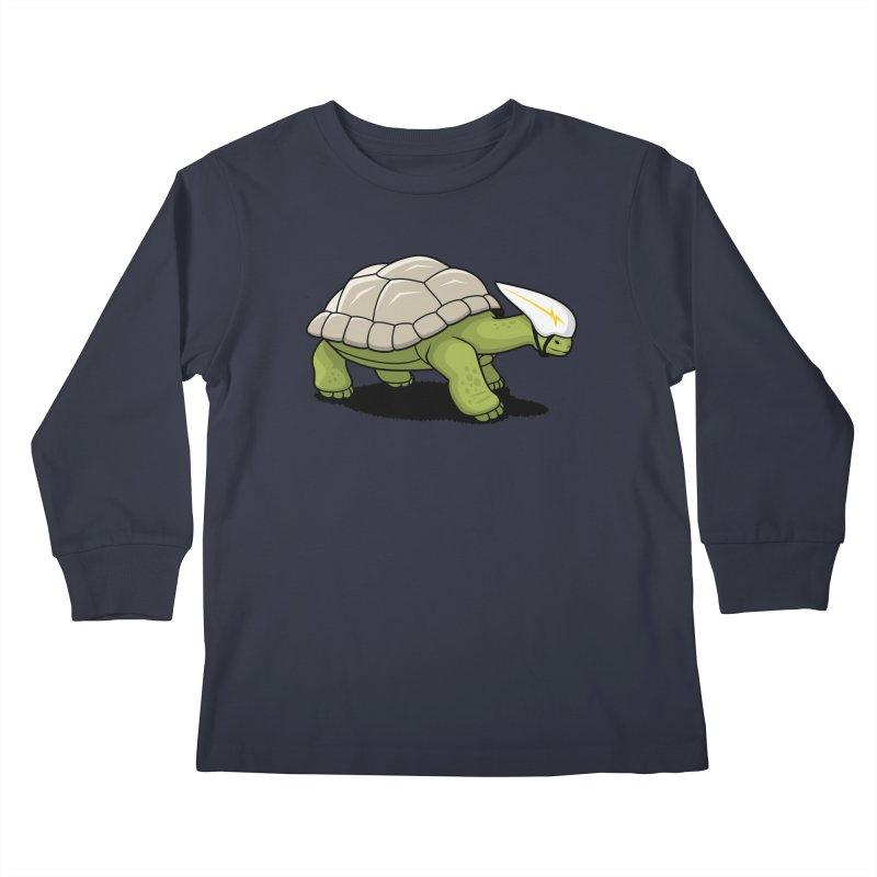Faster Kids Longsleeve T-Shirt by Glennz