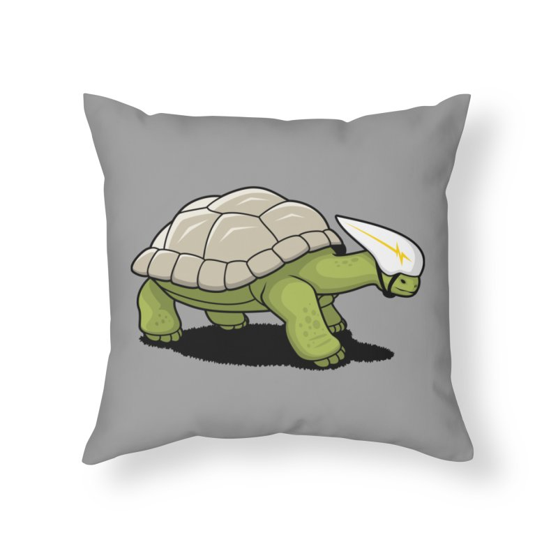 Faster Home Throw Pillow by Glennz