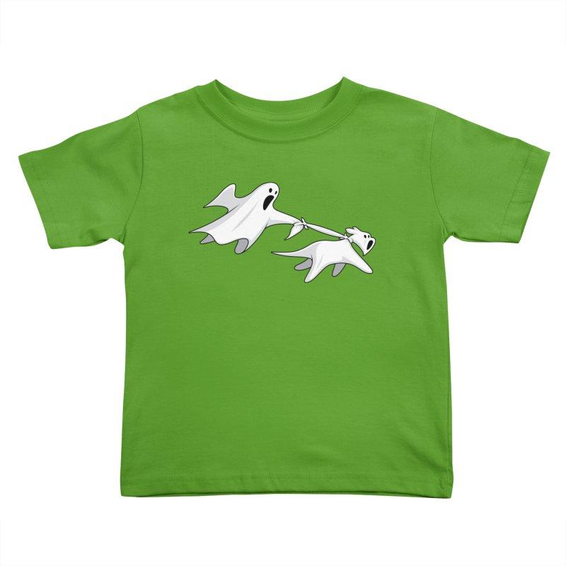 Ghost Dog Kids Toddler T-Shirt by Glennz