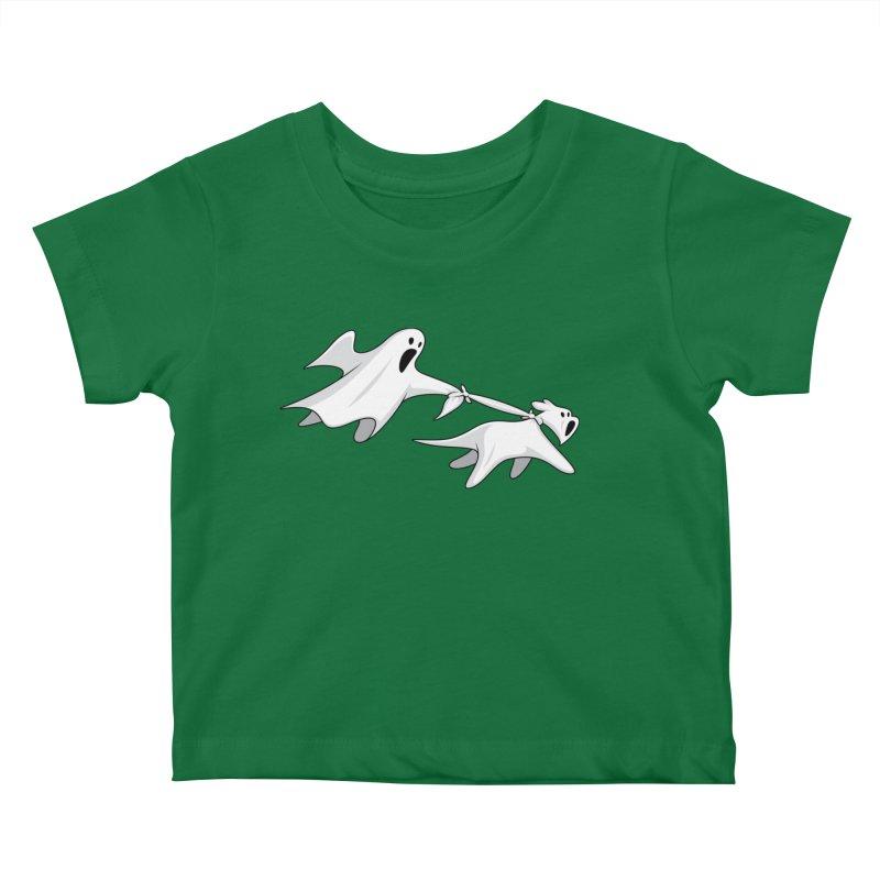 Ghost Dog Kids Baby T-Shirt by Glennz