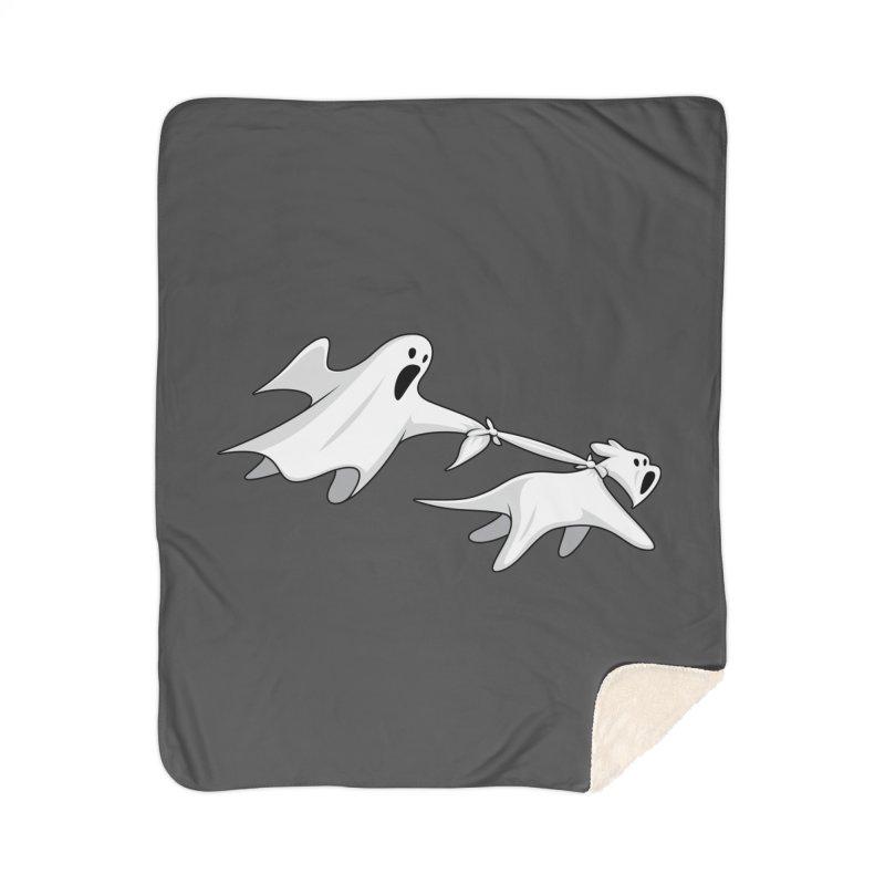 Ghost Dog Home Blanket by Glennz