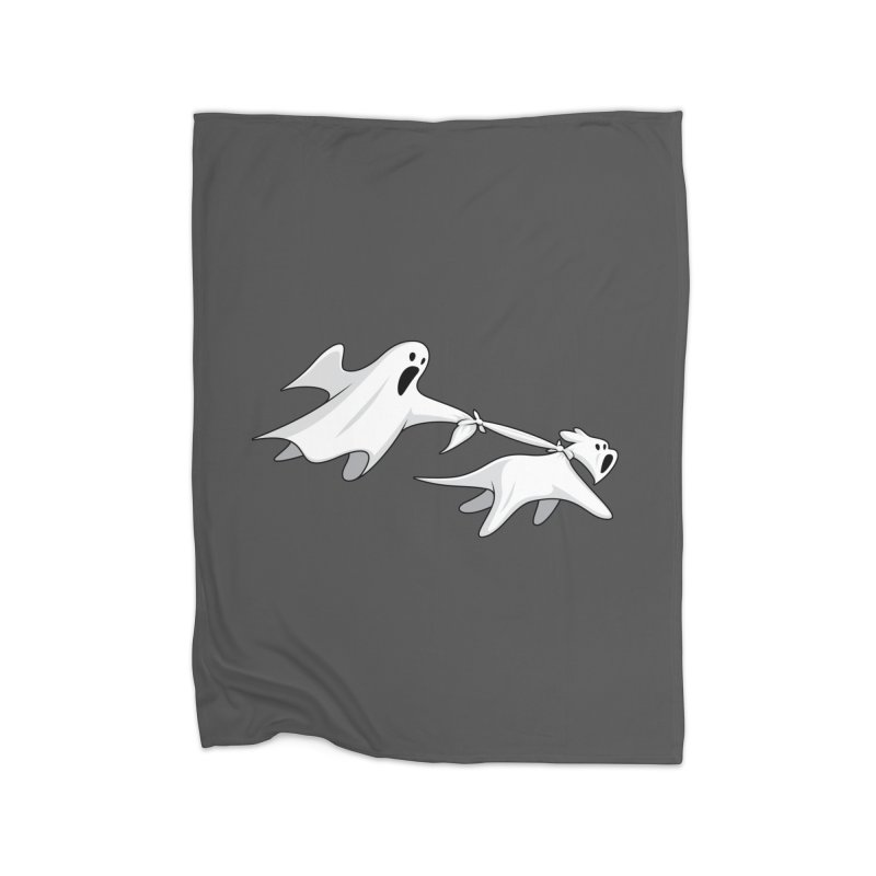 Ghost Dog Home Blanket by Glennz
