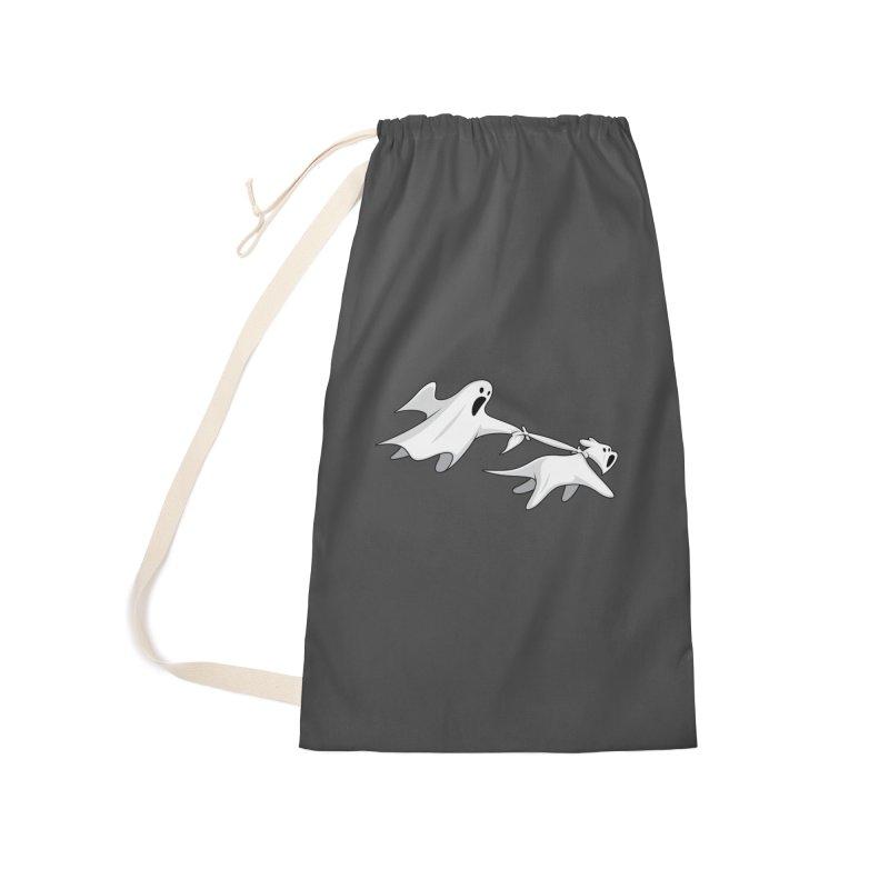 Ghost Dog Accessories Bag by Glennz