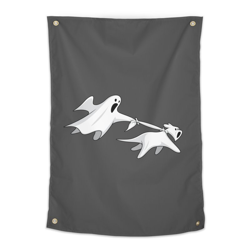 Ghost Dog Home Tapestry by Glennz