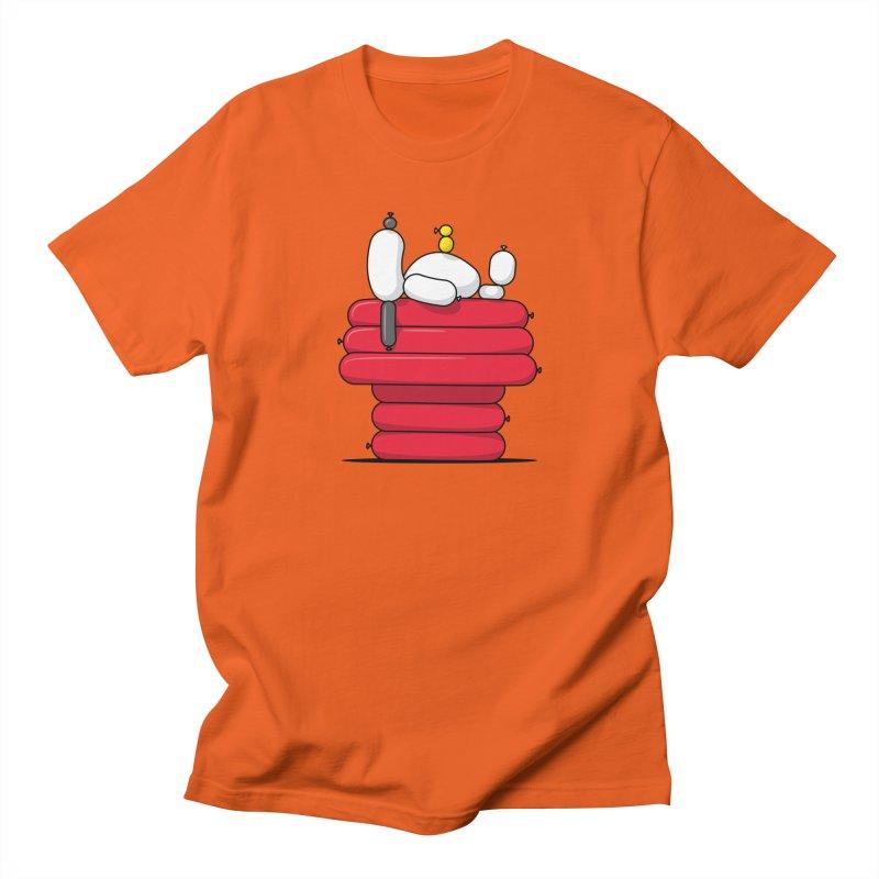 Balloon Dog Men's T-Shirt by Glennz