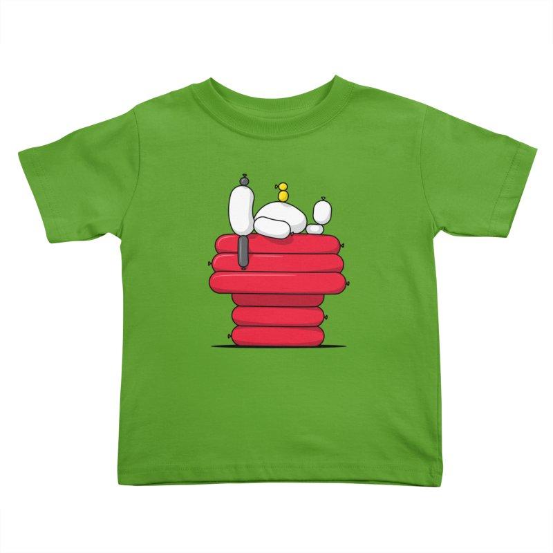 Balloon Dog Kids Toddler T-Shirt by Glennz