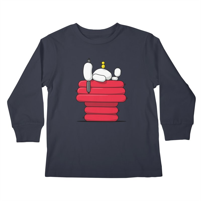 Balloon Dog Kids Longsleeve T-Shirt by Glennz