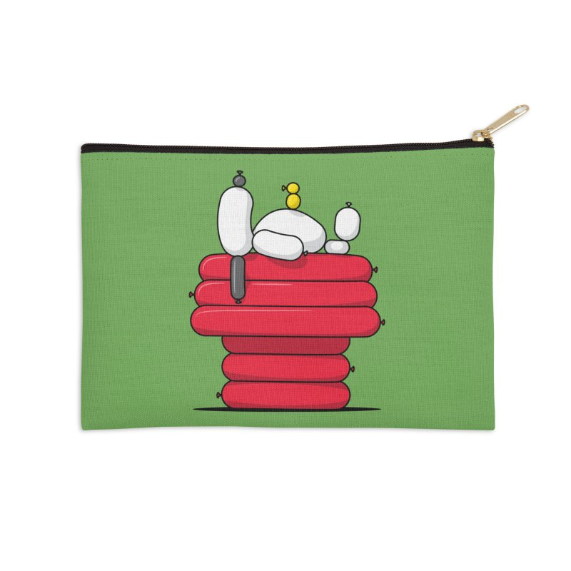 Balloon Dog Accessories Zip Pouch by Glennz