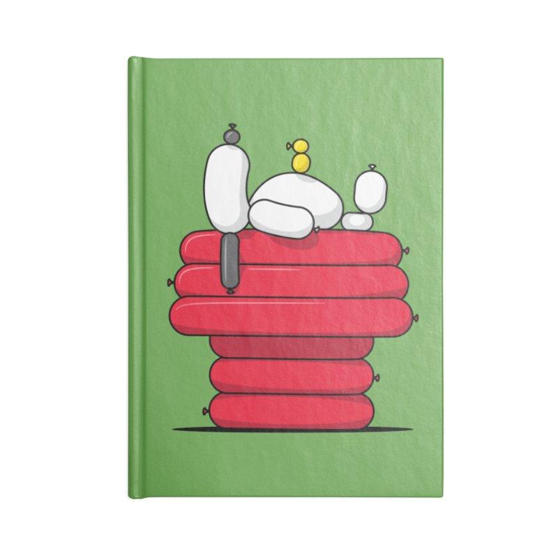 Balloon Dog Accessories Notebook by Glennz