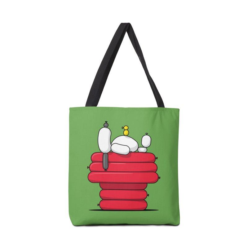 Balloon Dog Accessories Bag by Glennz