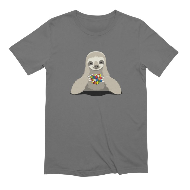 Speed Cuber Men's T-Shirt by Glennz