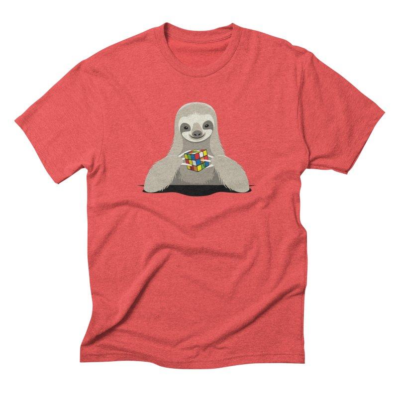 Speed Cuber Men's T-Shirt by Glennz