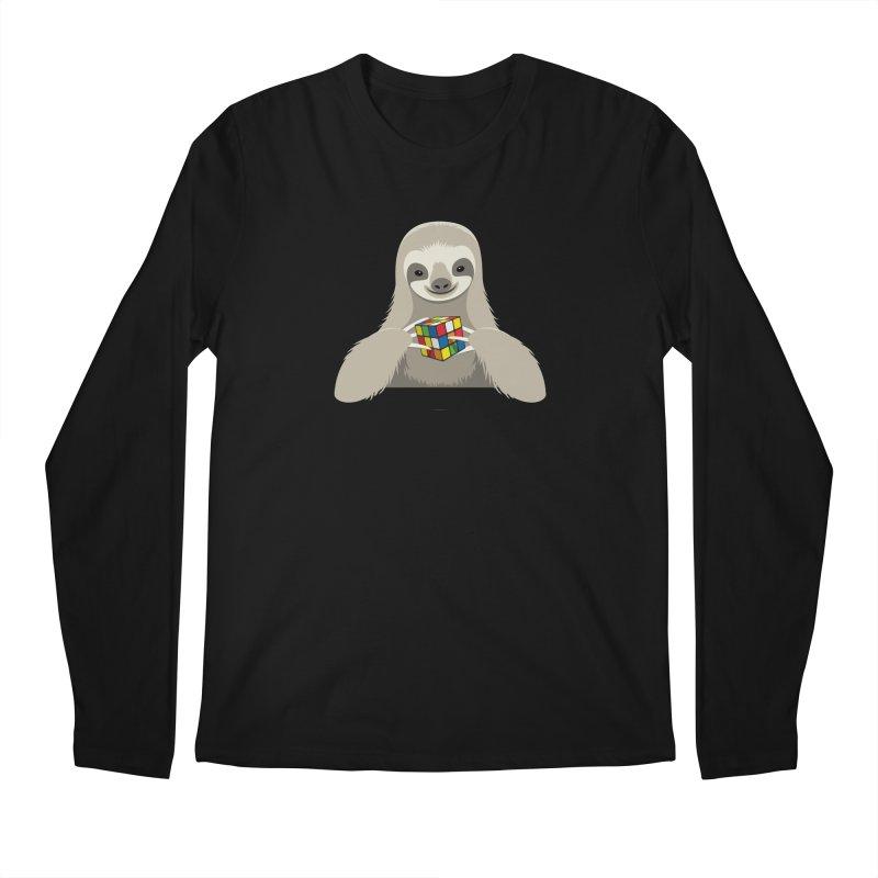Speed Cuber Men's Longsleeve T-Shirt by Glennz