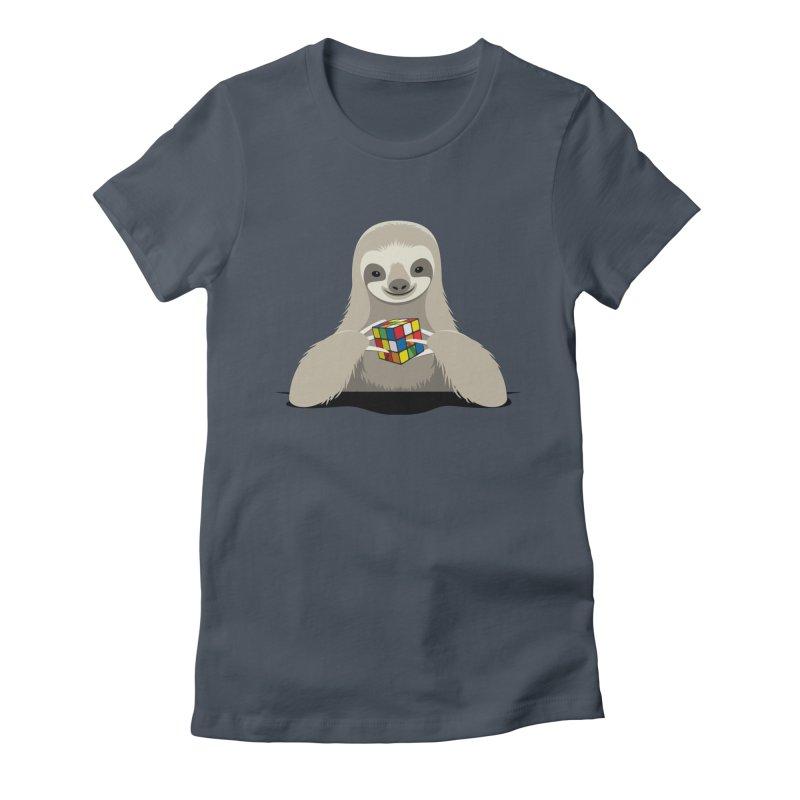 Speed Cuber Women's T-Shirt by Glennz