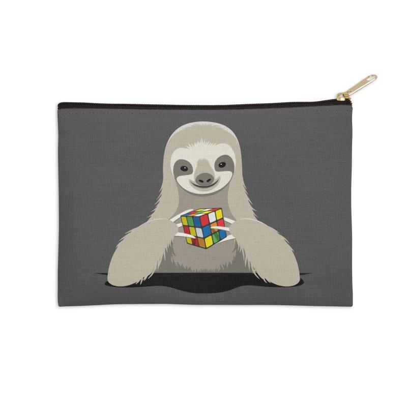 Speed Cuber Accessories Zip Pouch by Glennz