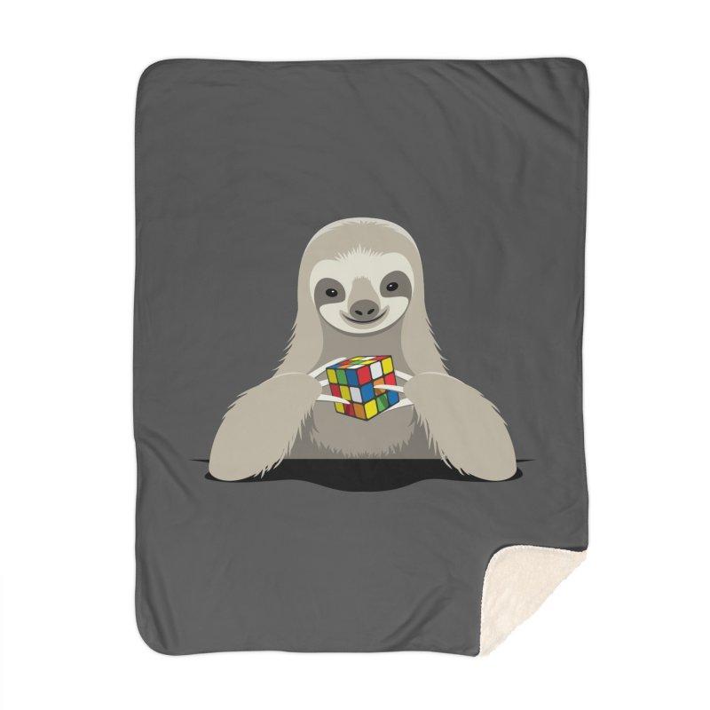Speed Cuber Home Blanket by Glennz