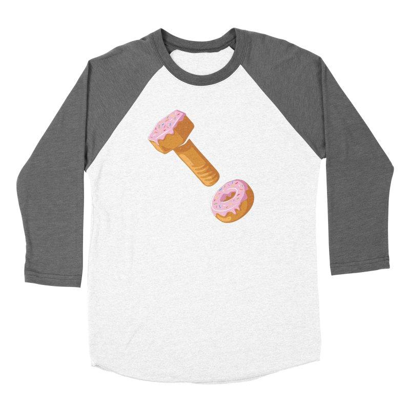 Donut and Bolt Women's Baseball Triblend T-Shirt by glennz's Artist Shop