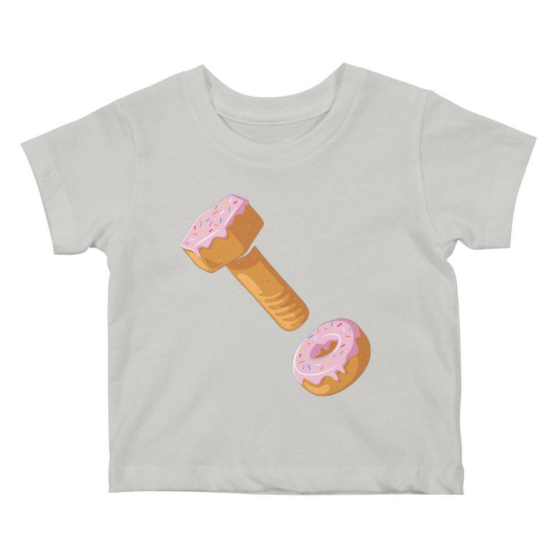 Donut and Bolt Kids Baby T-Shirt by glennz's Artist Shop