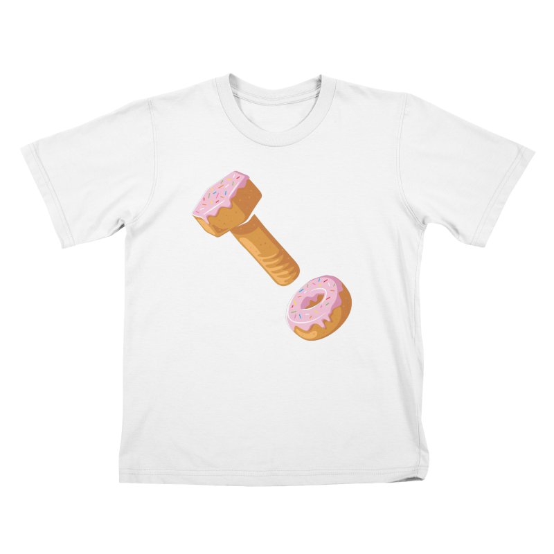 Donut and Bolt Kids T-Shirt by glennz's Artist Shop