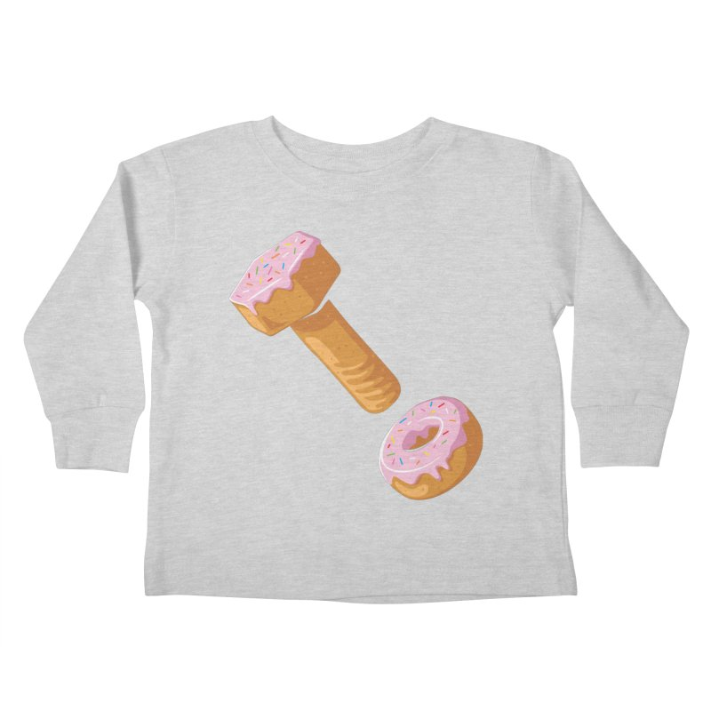 Donut and Bolt Kids Toddler Longsleeve T-Shirt by glennz's Artist Shop