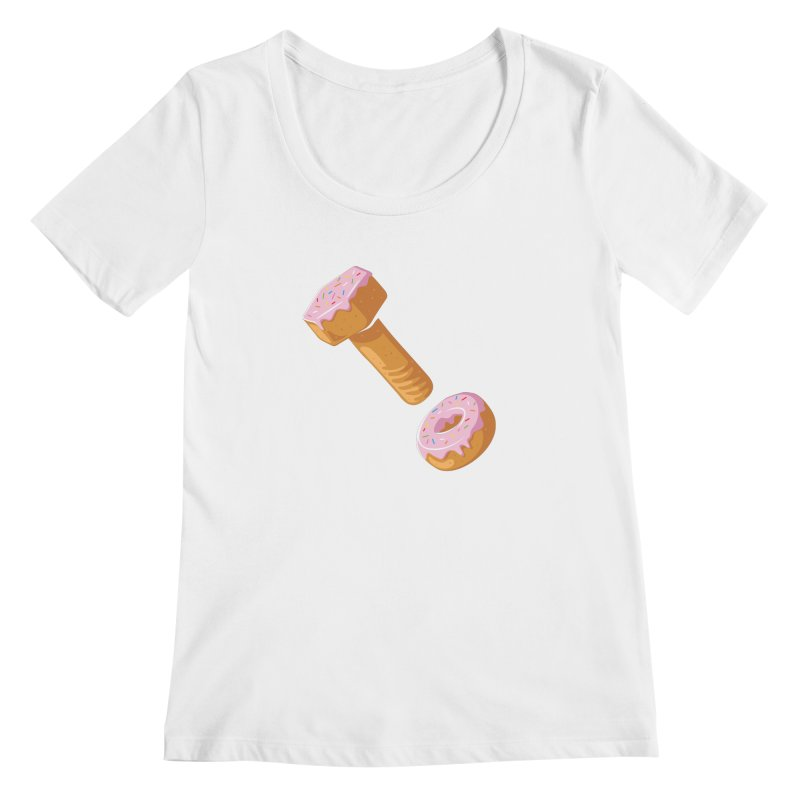 Donut and Bolt Women's Scoopneck by glennz's Artist Shop