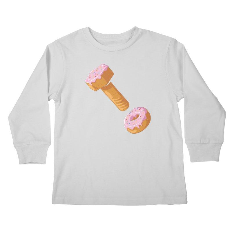 Donut and Bolt Kids Longsleeve T-Shirt by glennz's Artist Shop