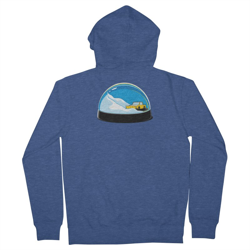 Forever Ploughing Men's French Terry Zip-Up Hoody by glennz's Artist Shop