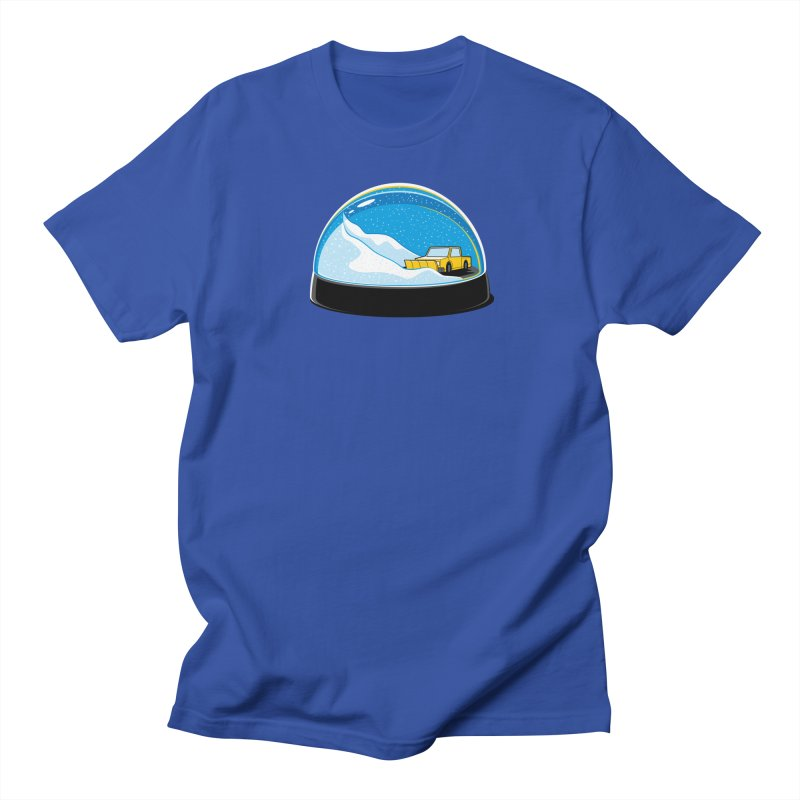 Forever Ploughing in Men's T-shirt Royal Blue by glennz's Artist Shop