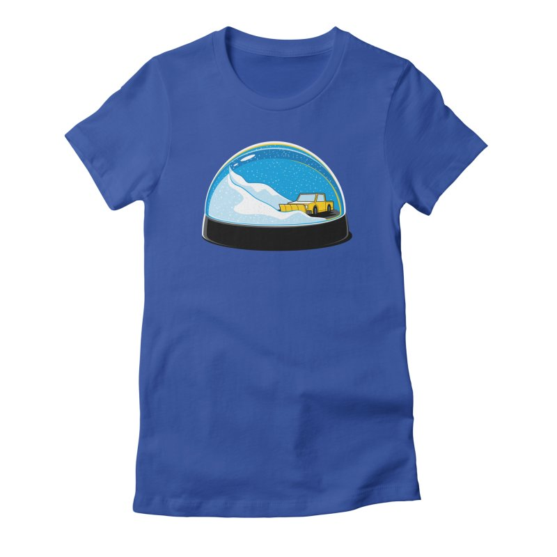 Forever Ploughing Women's Fitted T-Shirt by glennz's Artist Shop