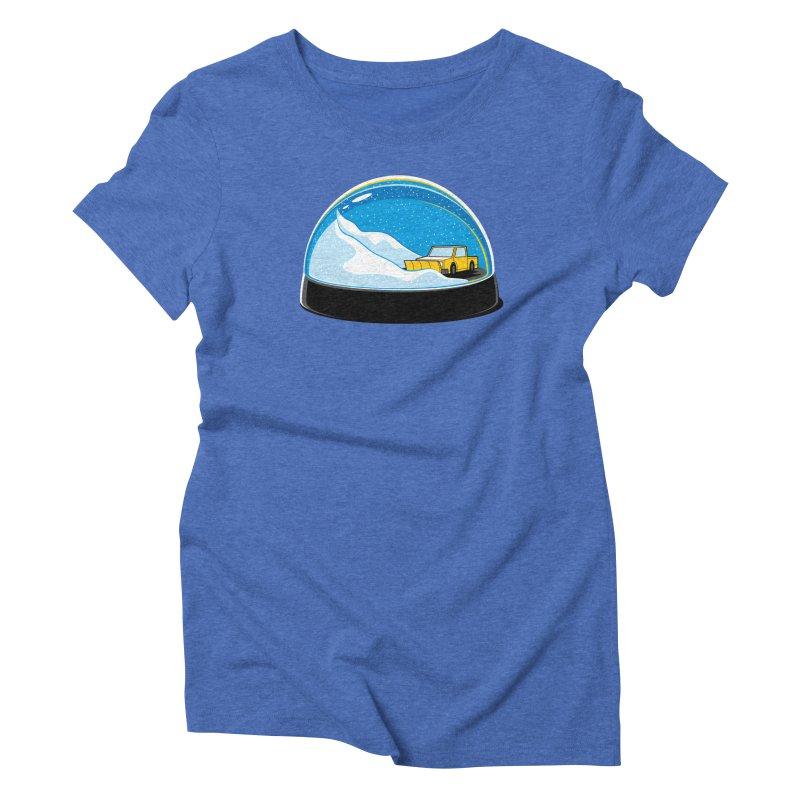 Forever Ploughing Women's Triblend T-Shirt by glennz's Artist Shop