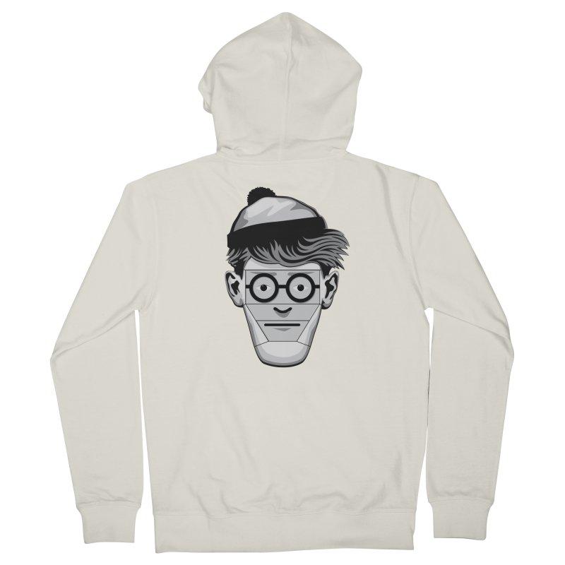 Fugitive ID Men's Zip-Up Hoody by glennz's Artist Shop