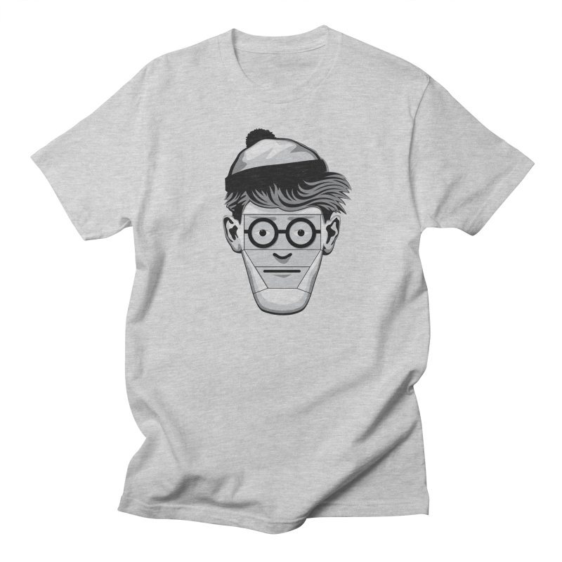 Fugitive ID in Men's T-shirt Heather Grey by glennz's Artist Shop