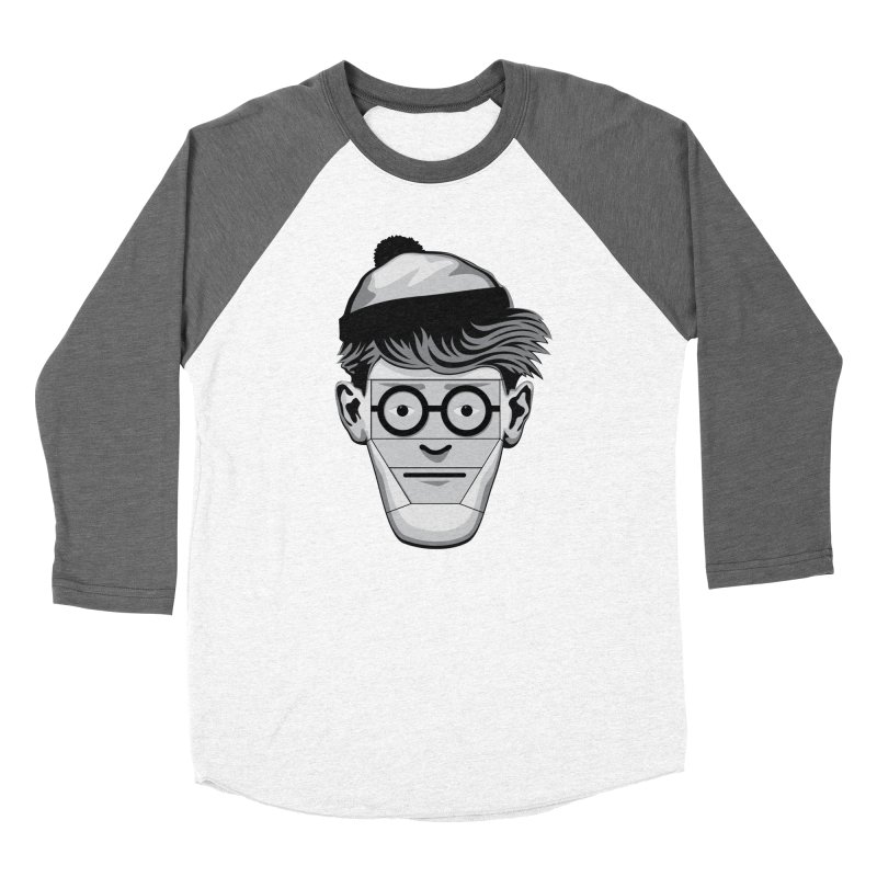 Fugitive ID Men's Baseball Triblend T-Shirt by glennz's Artist Shop