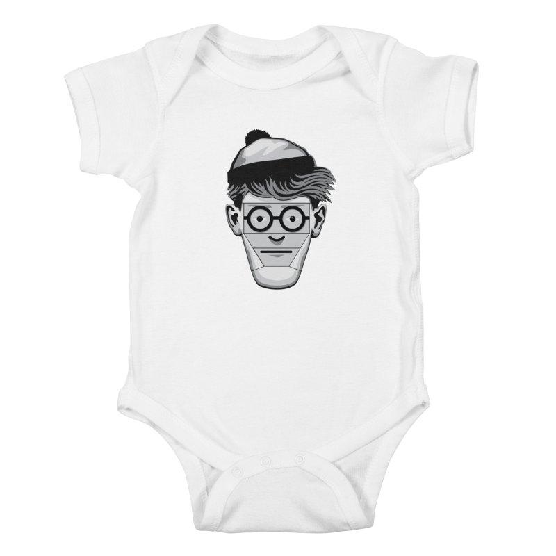 Fugitive ID Kids Baby Bodysuit by glennz's Artist Shop