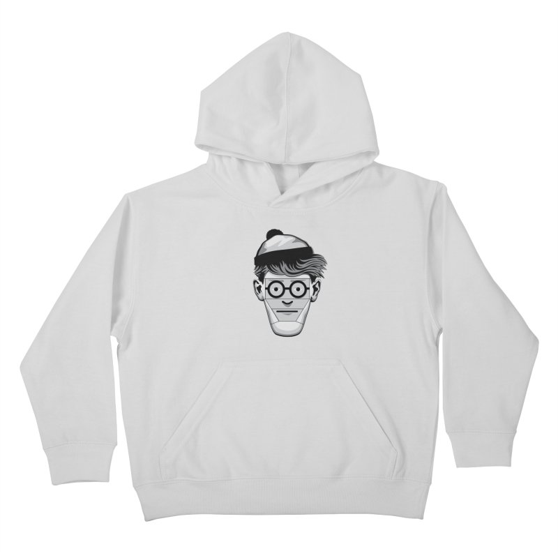 Fugitive ID Kids Pullover Hoody by glennz's Artist Shop