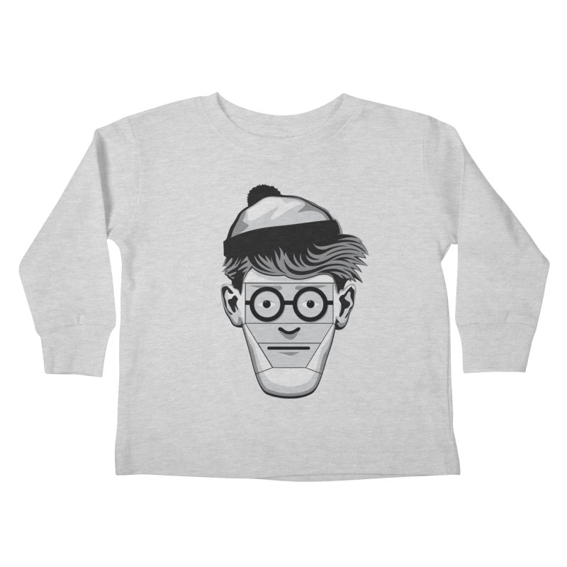Fugitive ID Kids Toddler Longsleeve T-Shirt by glennz's Artist Shop