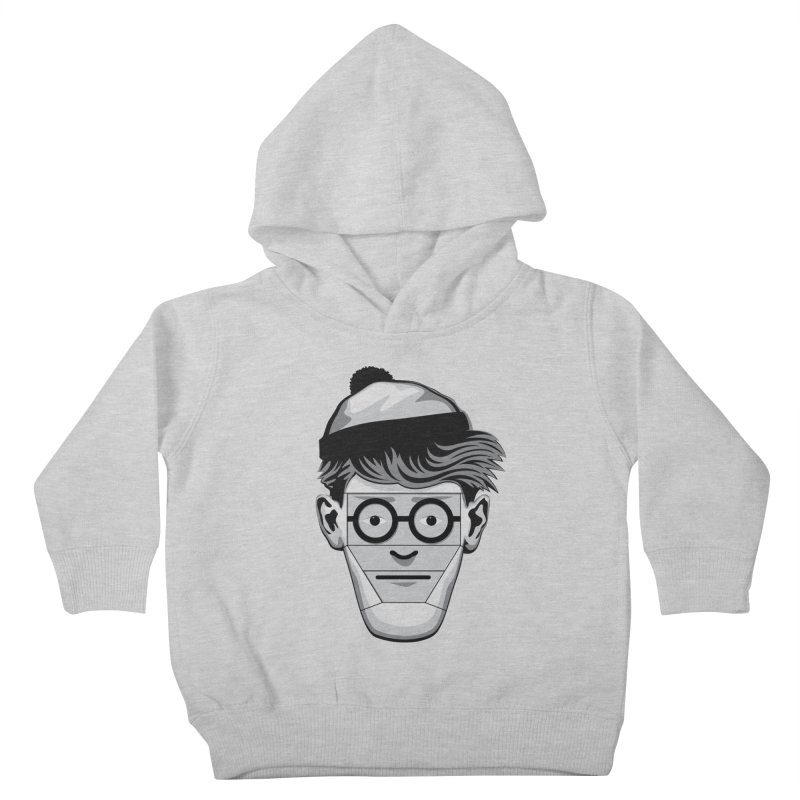 Fugitive ID Kids Toddler Pullover Hoody by glennz's Artist Shop