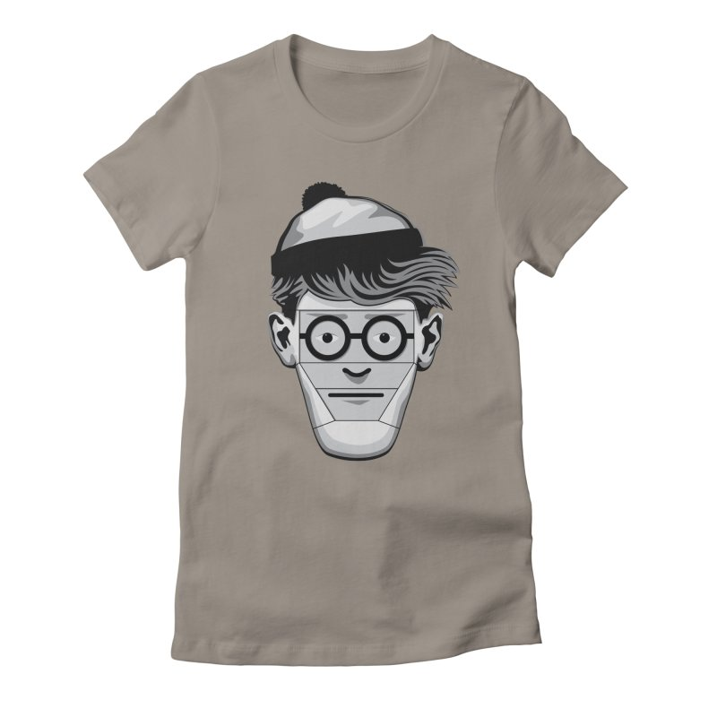 Fugitive ID Women's Fitted T-Shirt by glennz's Artist Shop