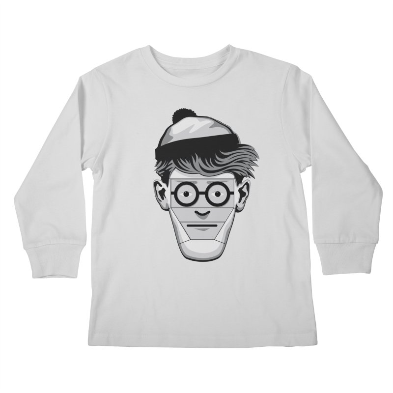 Fugitive ID Kids Longsleeve T-Shirt by glennz's Artist Shop