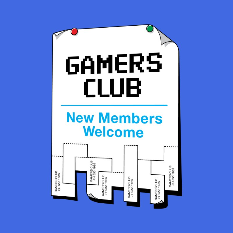 Gamer's Club   by glennz's Artist Shop
