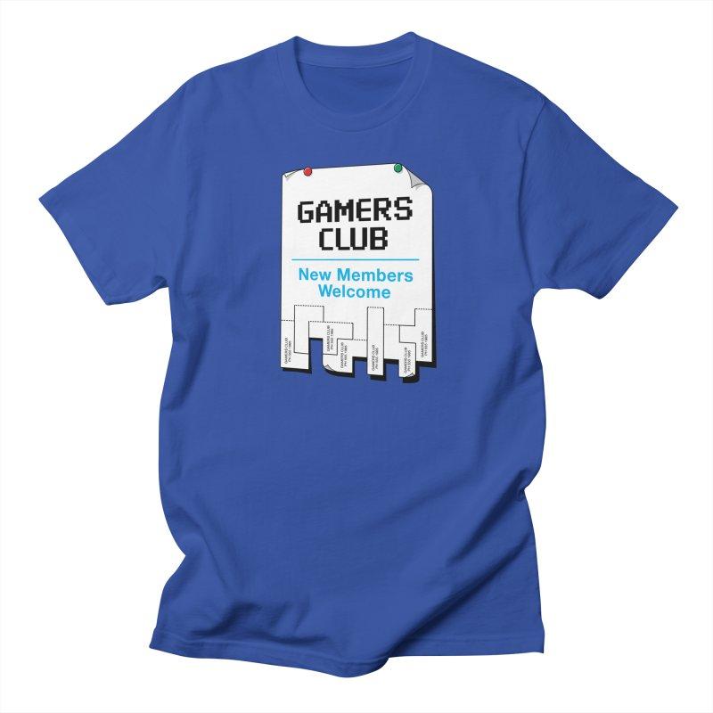 Gamer's Club Men's T-Shirt by glennz's Artist Shop
