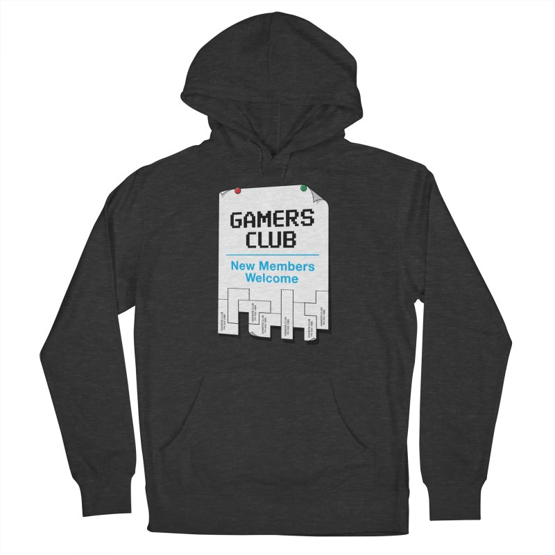 Gamer's Club Women's French Terry Pullover Hoody by glennz's Artist Shop
