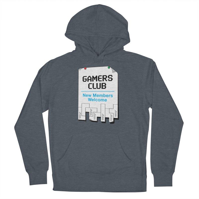 Gamer's Club Women's Pullover Hoody by glennz's Artist Shop