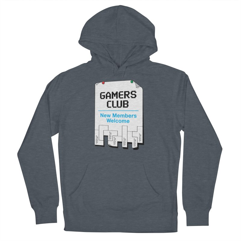Gamer's Club Men's French Terry Pullover Hoody by glennz's Artist Shop