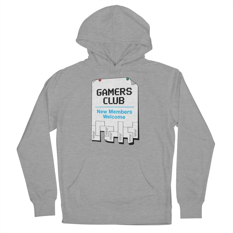 Gamer's Club Men's Pullover Hoody by glennz's Artist Shop