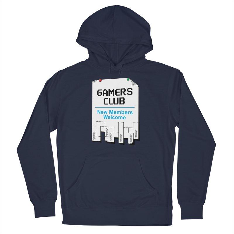 Gamer's Club Men's Pullover Hoody by glennz's Artist Shop