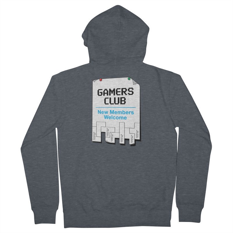 Gamer's Club Women's Zip-Up Hoody by glennz's Artist Shop