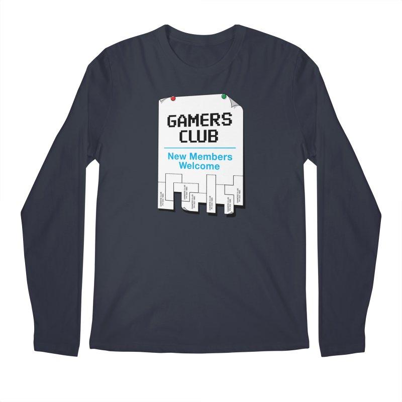 Gamer's Club Men's Longsleeve T-Shirt by glennz's Artist Shop