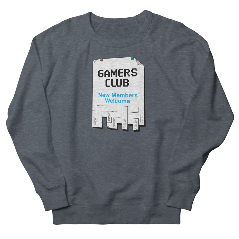 Gamer's Club Men's French Terry Sweatshirt by glennz's Artist Shop
