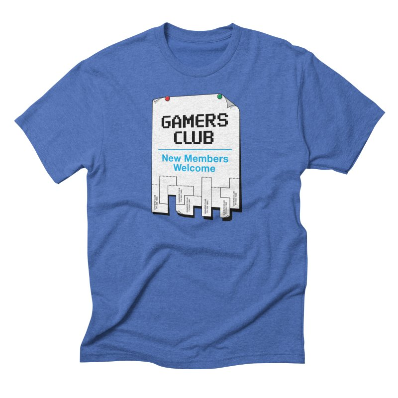 Gamer's Club Men's Triblend T-Shirt by glennz's Artist Shop
